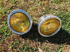 Vintage Lumidor Supreme Fog Lights 1950's 1960's Chevrolet Ford Ratrod Foglights