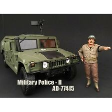 WWII MILITARY POLICE FIGURE II FOR 1:18 SCALE MODELS BY AMERICAN DIORAMA 77415