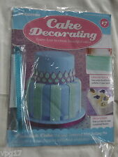 DeAGOSTINI CAKE DECORATING  MAGAZINE MINI EMBOSSED ROLLING PIN   No 17  NEW