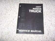 1997 Nissan Pickup Truck Shop Service Repair Manual XE SE King Cab 2.4L 4WD