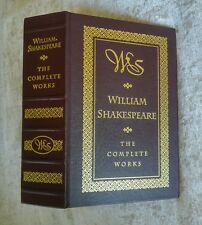 William Shakespeare The Complete Works Leather Barnes & Noble 1994