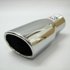 Exhaust Sport Chrome Pipe Muffler Tail Tip For Mitsubishi Pajero Colt Lancer