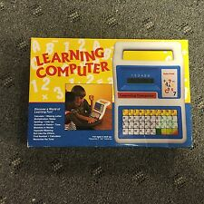 Radio Shack Learning Computer 60-2411 Vintage 1980s Toy COMPLETE IN BOX