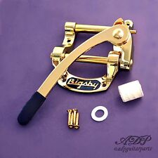 "VIBRATO BIGSBY B5 GOLD ""Fer à Cheval"" (for TELECASTER, Gibson SG..)"