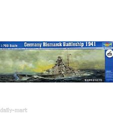Trumpeter 1/700 05711 Germany Bismarck Battleship 1941 Model Kit