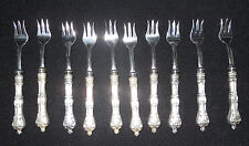 Vintage Sterling Silver SHEFFIELD England Knife Fork Ambassador Cutlery Lot