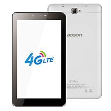 "Latest Aoson S7 Pro 4G Phablet 7"" Android 6.0 Dual SIM Phone Call 8GB Tablet PC"