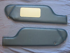 1971-76 cadillac  convertible  new sun visors with vanity mirror blue