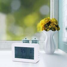 LCD Carbon Dioxide Detector CO2 Temp Humidity Indoor Air Quality Monitor F8Z8