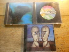 Pink FLoyd [3 CD Alben] Meddle (Black Face)+ Wish You were here + Division Bell