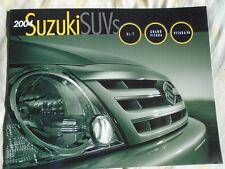 Suzuki SUV's XL-7, Grand Vitara & Vitara V6 brochure 2004 USA text