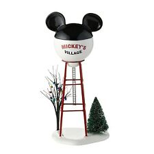 Department 56 Disney Village Mickey Water Tower General Accessory 11.875-Inch