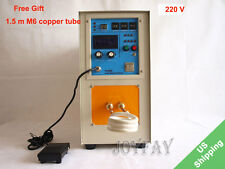 15KW 30-80 KHz High Frequency Induction Heater Furnace LH-15A 220 V