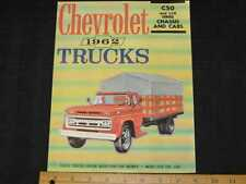 1962 Chevrolet C50/L50 Series Trucks Sales Brochure CDN
