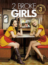 2 BROKE GIRLS SEASON 3 (DVD, 2014, 3-Disc Set)