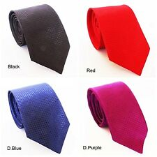 Combo Set of 4 Slim Men Tie, Necktie Birthday B'day Gift Set