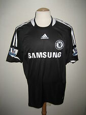 Chelsea MATCH WORN Joe Cole away football shirt soccer jersey trikot size L