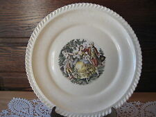 "Vintage The Harker Pottery Co. Made In USA 22 Kt. Gold Trim Plate, 10"" D"