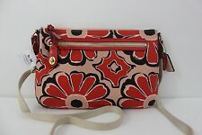 Coach Poppy Floral Scarf Print East West Swingpack Crossbody Bag Handbag