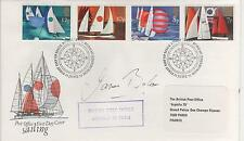 "JAMES BOLAM - SIGNED -1975 ""SAILING "" FIRST DAY ENVELOPE"