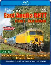 Riding the East Anglia RHTT *Blu-ray (Cab Ride-Class 57/3  water cannon duties)