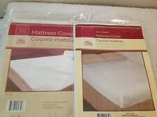"Fitted Plastic Mattress Protector , QUEEN 60"" X 80"""