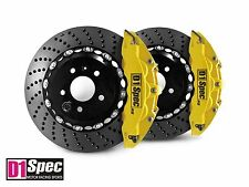 D1 Spec Front RS Big Brake 6Pot Caliper YELLOW 355x32 Drill Disc for A5 8T