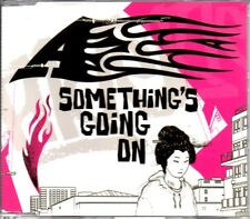 A - SOMETHING'S GOING ON - VIDEO ENHANCED CD SINGLE - MINT
