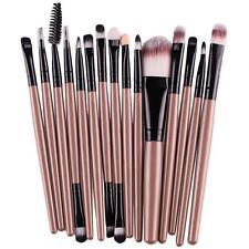 Fashion 15 pcs/Sets Eye Shadow Foundation Eyebrow Lip Brush Makeup Brushes Tool