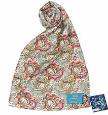 Seventh Doctor Silk Scarf - Official Sylvester McCoy Doctor Who 7th Doctor