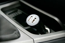 Adapt & Charge All Electronic Gadgets In Your Car with the Dual USB Car Charger