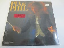 PIA ZADORA SINGING WITH THE PHILHARMONIC ORCHESTRA Factory Sealed Vinyl LP