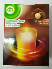 Air Wick Vela de cambio de color 155g Chocolate Trufas & Creme Fragancia Airwick