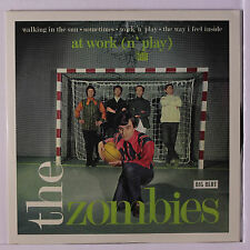 ZOMBIES: At Work (n' Play) 45 (UK, PS, small center hole) Rock & Pop