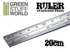Riga 20cm in Acciaio Inossidabile Extra modellismo - Utensili strumenti taglio