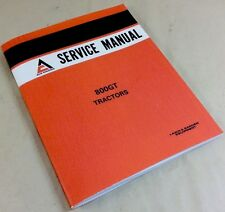 ALLIS CHALMERS 800GT TRACTORS SERVICE REPAIR SHOP MANUAL OVERHAUL ADJUSTMENTS