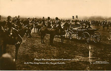 WOOLWICH(London) :Royal Review Woolwich .King takes Royal Salute-RP-MOLYNEUX