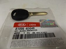 GENUINE KIA GRAND CARNIVAL MPV PETROL DIESEL ALL MODEL BLANKING IMMOBILIZER KEY