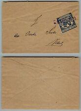 REGNO-10c(1)RECAPITO AUTORIZZATO usato per posta su bustina  8.10.1960
