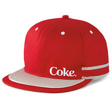 COCA COLA COKE DOUBLE FLATBILL HAT CAP NEW!!!