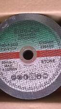 CUTTING DISCS 180MM X 3MM X 22MM FLAT STONE EURO CUT BOX OF 100