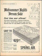 1963 Vintage ad for Spring Air Mattress Art Prince drawing photo  081416