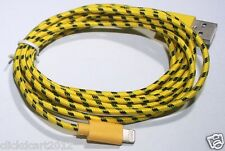 Fabric Braided Data Sync Lighting Cable iPhone 5/S/C iPhone 6 6+ iPad 4/AIR(2M)