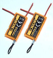 2X OrangeRx R615x DSM2 DSMX Compatible 6Ch 2.4Ghz Receiver r610 r615 Orange CPPM