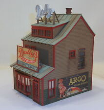 """HO HOn3 CUSTOM BUILT BAR MILLS"""" DOLLY'S CONFECTIONAIRE """" FINISHED AND DETAILED"""