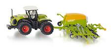 FARMER 1826 SIKU CLAAS Xerion 5000 Tractor / Amazone Cayena 6001 1:87 Diecast