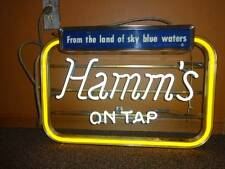 Hamm's On Tap Vintage Neon Beer Sign 25 x 17