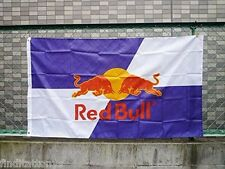 BRAND NEW RED Bull Flag F1 Racing 3ft x 5ft 90cm X 150cm free shipping