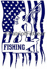 Gone Fishing,Flag,Fish,Fishing,Angler,Charter,Boats,Rivers,stickers,vinyl decals