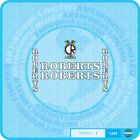Roberts - Bicycle Decals Transfers - Stickers - Set 1
